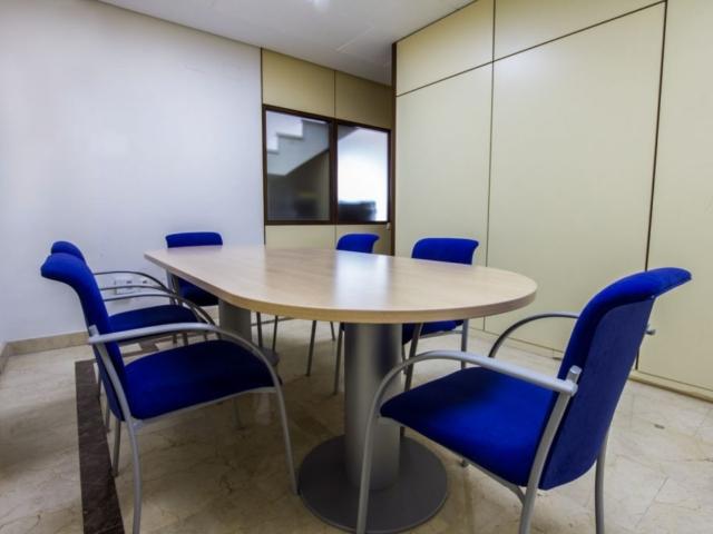 sala reuniones oficinas Ascensores Samar S.A.